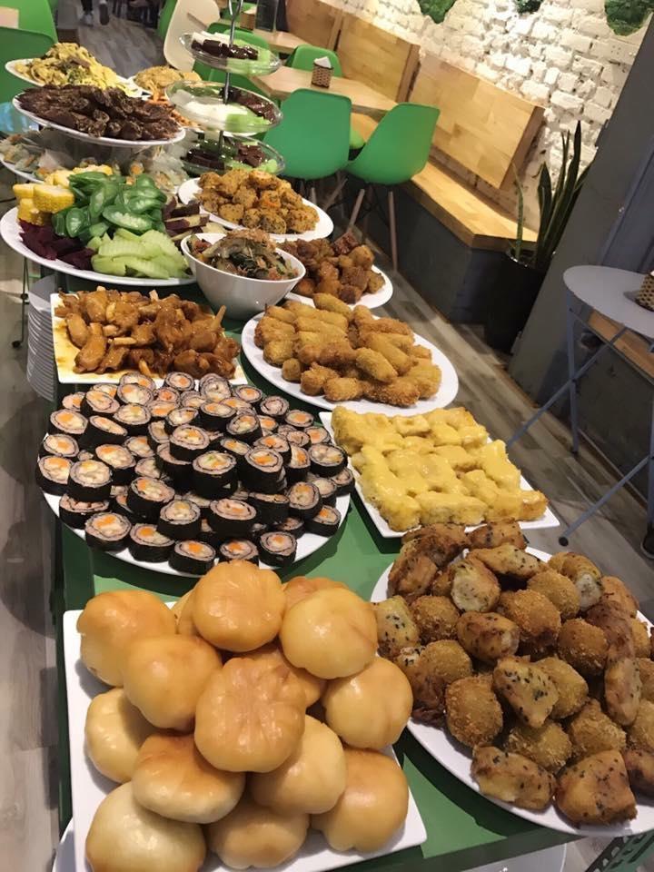 Một số món ăn tại Sukha