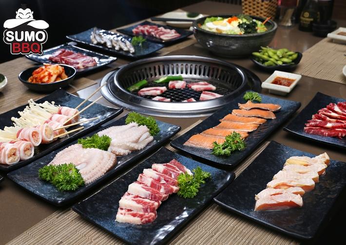 Các món nướng tại Sumo BBQ đều được chế biến theo phong cách nướng Yakiniku, rất tốt cho sức khỏe