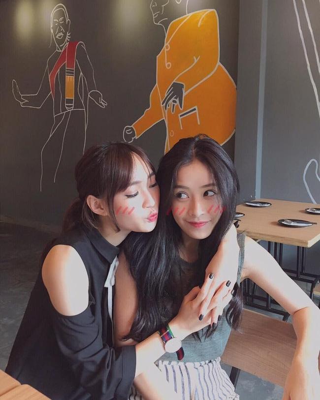 Tình bạn thân thiết của Sun Ht và Chi Pu ( nguồn internet)