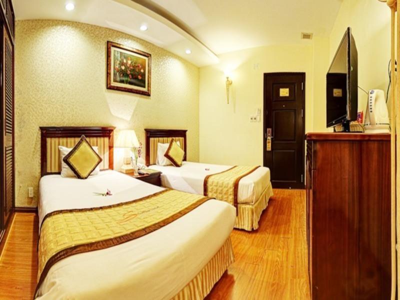 Phòng nghỉ tại Sun River Hotel