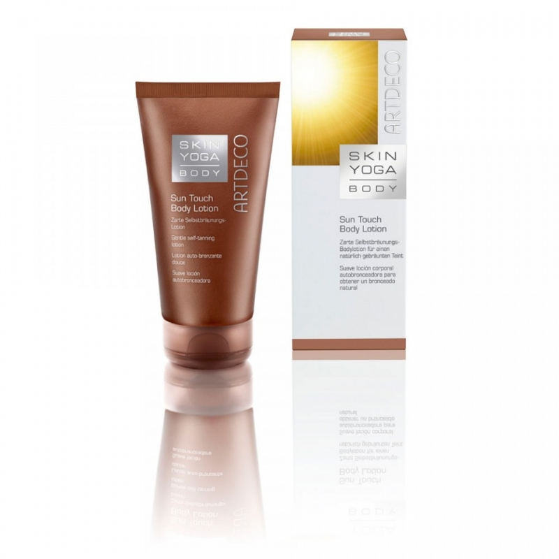 Sun touch body lotion