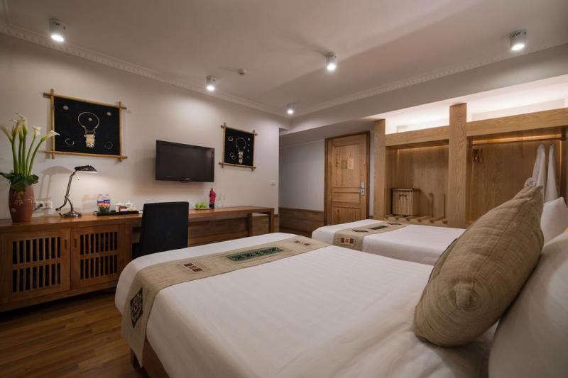 Không gian khách sạn Sunny Moutain Hotel làm hài lòng mọi du khách đến nghỉ ngơi tại đây.