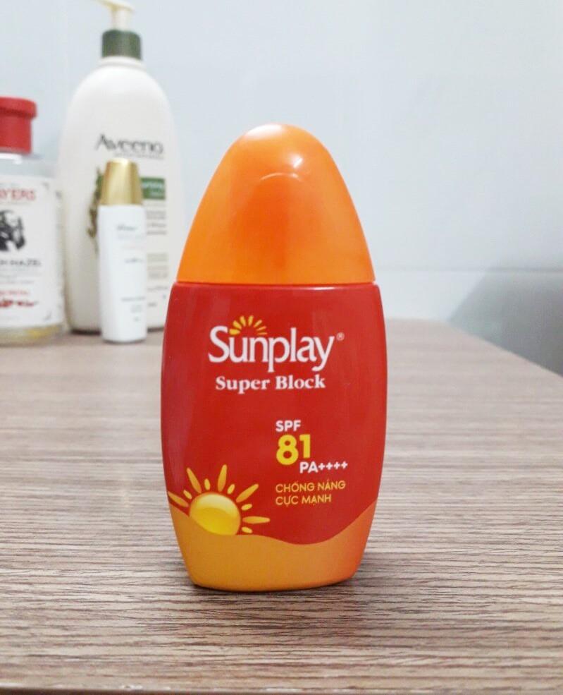Sữa chống nắng cực mạnh Sunplay Super Block SPF 81