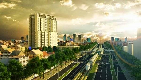 Phối cảnh dự án Sunrise City