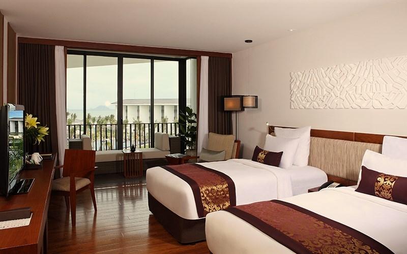 Đặc biệt, các phòng nghỉ được thiết kế với phong cách hiện đại với điểm nhấn vào sự sang trọng, riêng tư và tiện nghi