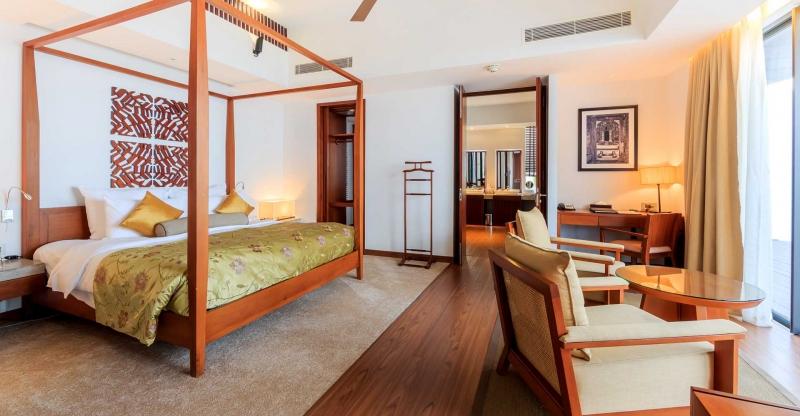 Phòng nghỉ đầy đủ tiện nghi và ấm áp