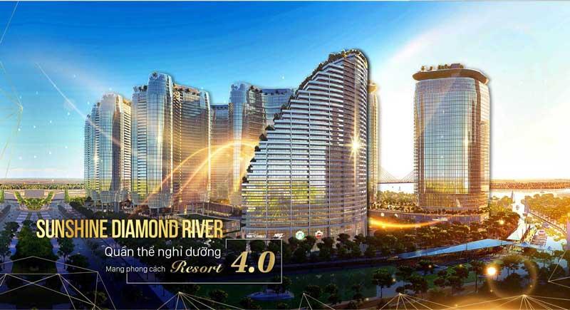 Sunshine Diamond River - dẫn đầu xu thế nghỉ dưỡng bậc nhất Sài thành