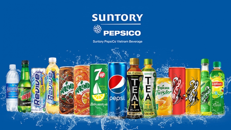 Suntory pepsico cũng là một môi trường làm việc đáng mơ ước