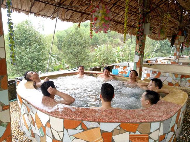 Refreshing resort service