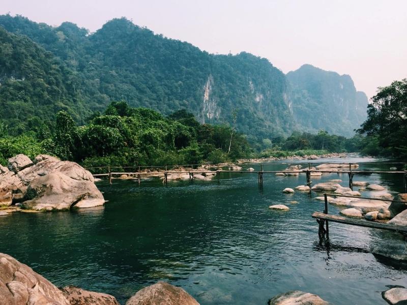 Suối Moọc- Phong Nha, Kẻ Bàng