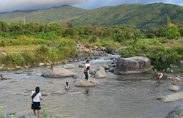 Suối nước nóng Đam Rông (Lâm Đồng)
