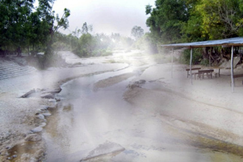 Suối nước nóng khoáng Bang