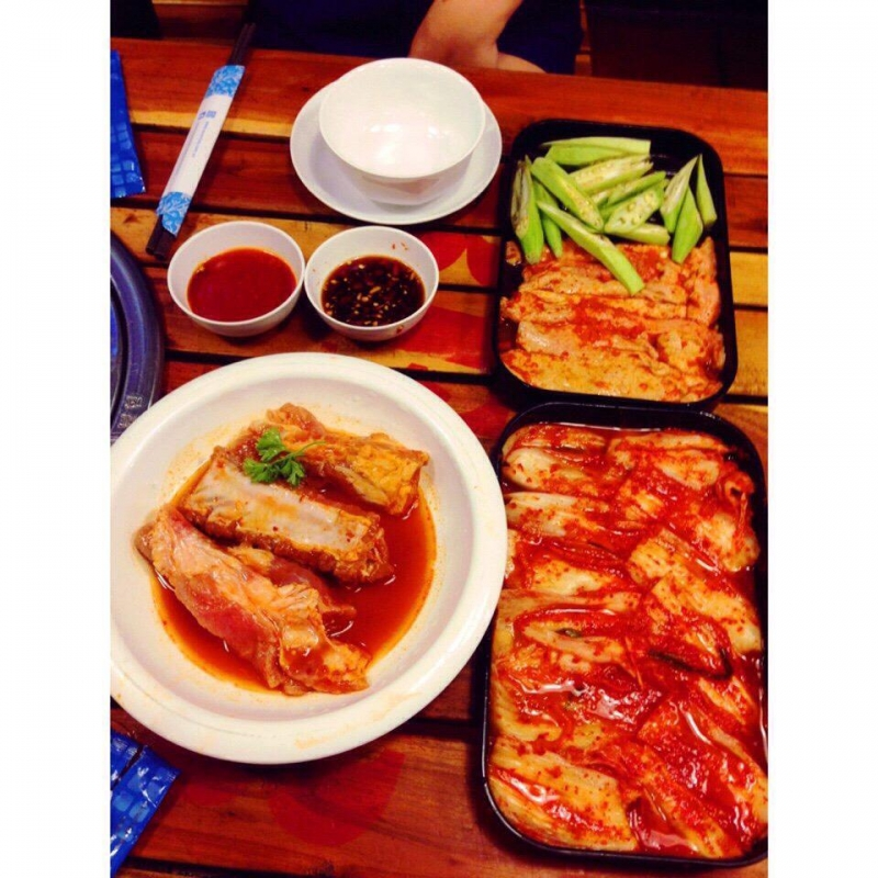Kimchi ướp rất đậm đà