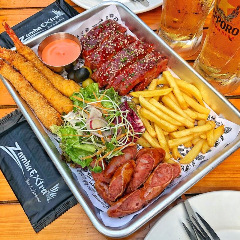 Sườn nướng Zamba Extra Beer & BBQ