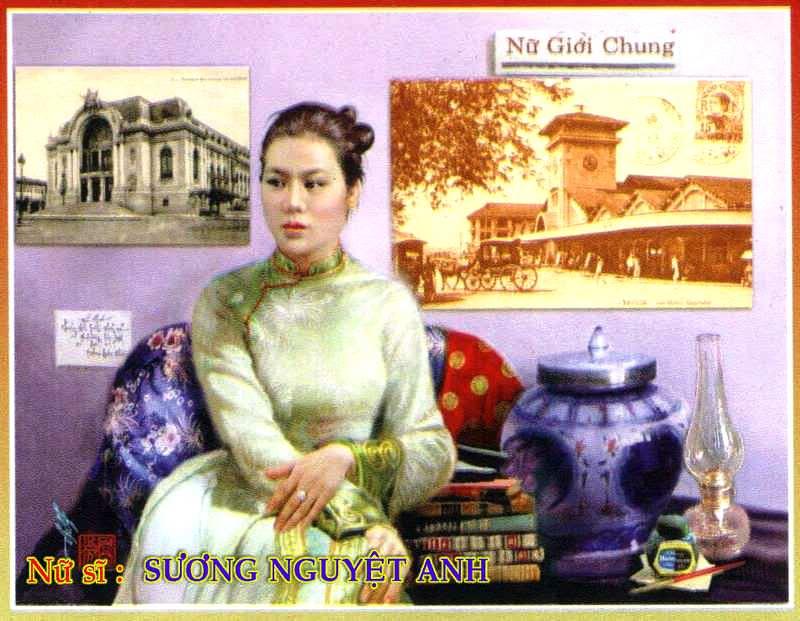 Sương Nguyệt Ánh - Nữ Tổng biên tập đầu tiên