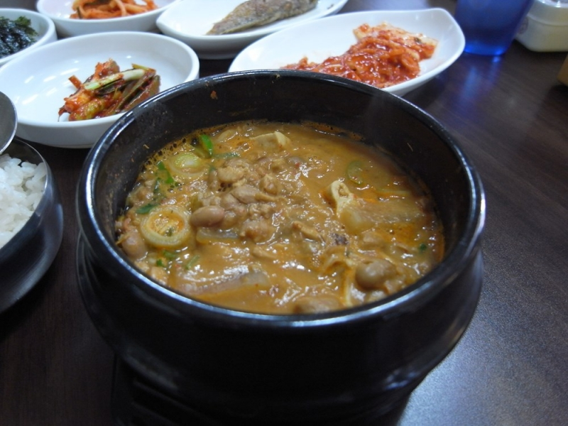 Súp xác thối - Cheonggukjang