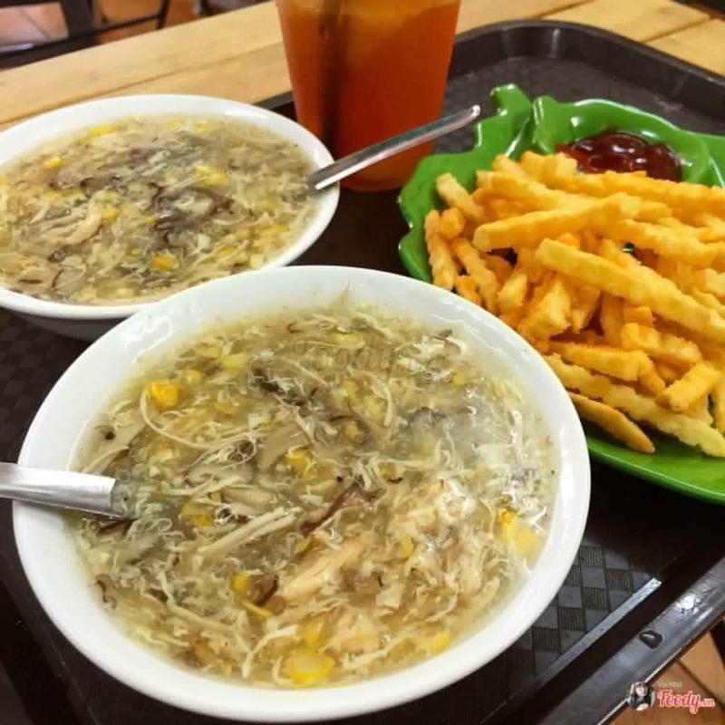 súp gà Yến Béo Dốc Hòe Nhai