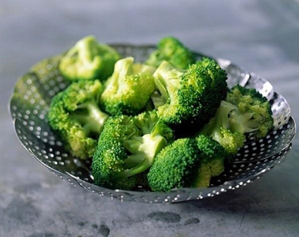 Da khô không thể bỏ qua những món ăn từ súp lơ xanh