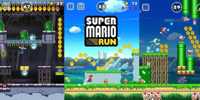 1 màn chơi của Super Mario Run
