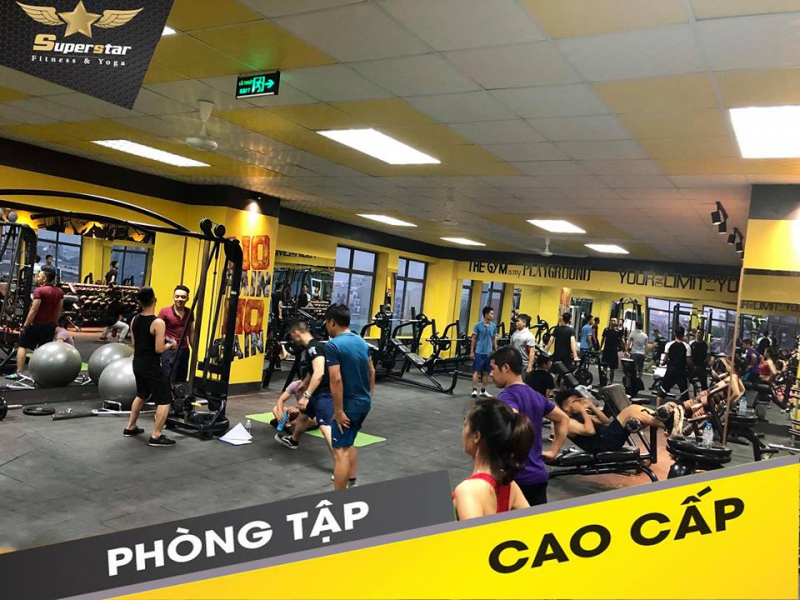 Super Star Fitness & Yoga - Bắc Giang