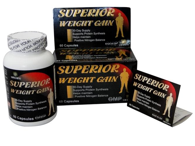 Superior Weight Gain - Viên Uống Tăng Cân Tăng Cơ Hiệu Quả: