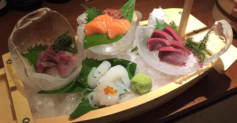 Samishi tươi sống của Sushi Bê