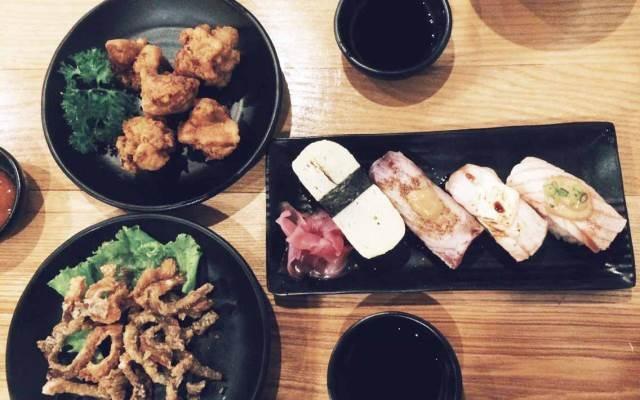Những món ăn Nhật ở Sushi Box