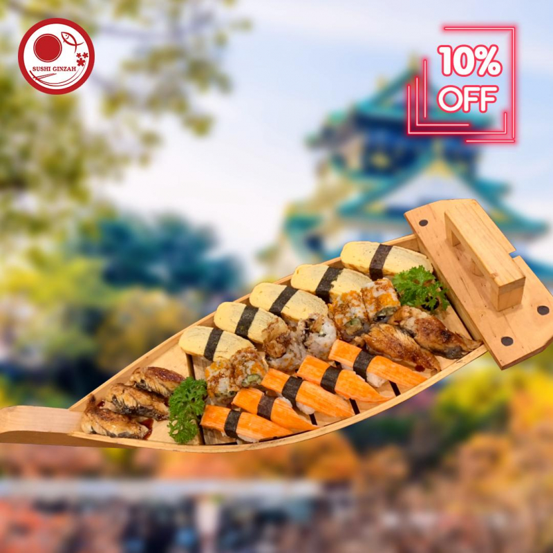 Sushi Ginza - Nguyễn Thiện Thuật