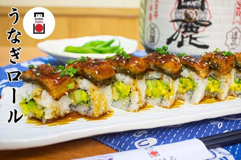 Cơm cuộn lươn- sinh ra để luôn ngon và hấp dẫn gợi vị