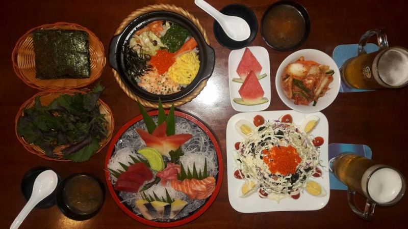 Nhà hàng Nhật Bản Sushi Kazoku