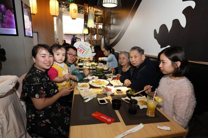 Với thực đơn đậm chất văn hóa Nhật Bản, nhà hàng Sushi Kei sẽ mang đến nhiều niềm vui mới mẻ cho tiệc tất niên hay sinh nhật