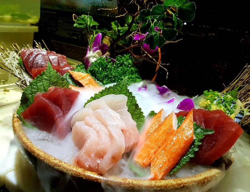 Những miếng sushi hấp dẫn