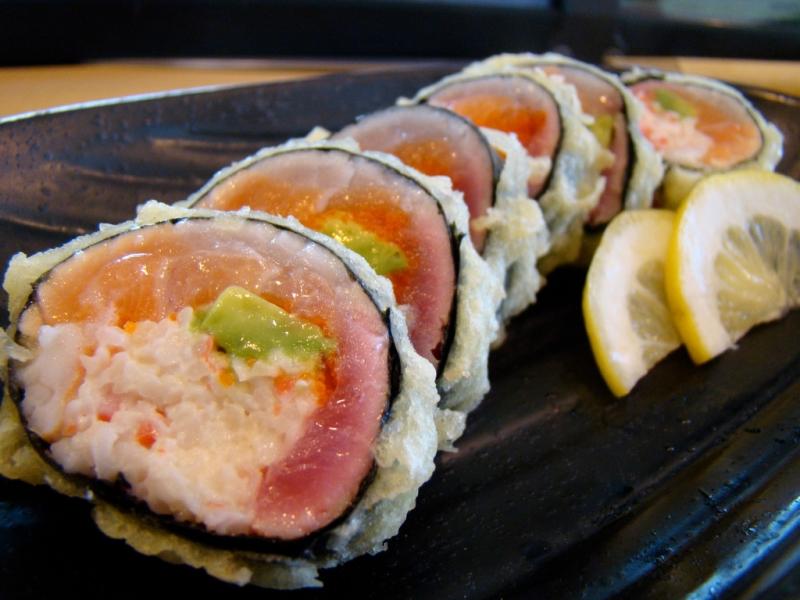 Quán Sushi Moon phục vụ các món ăn mang phong cách Nhật