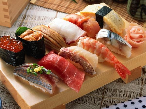 Sushi Nhật món ăn hấp dẫn cả thế giới
