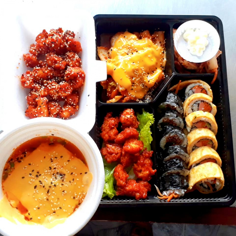 Sushi thằng Bờm