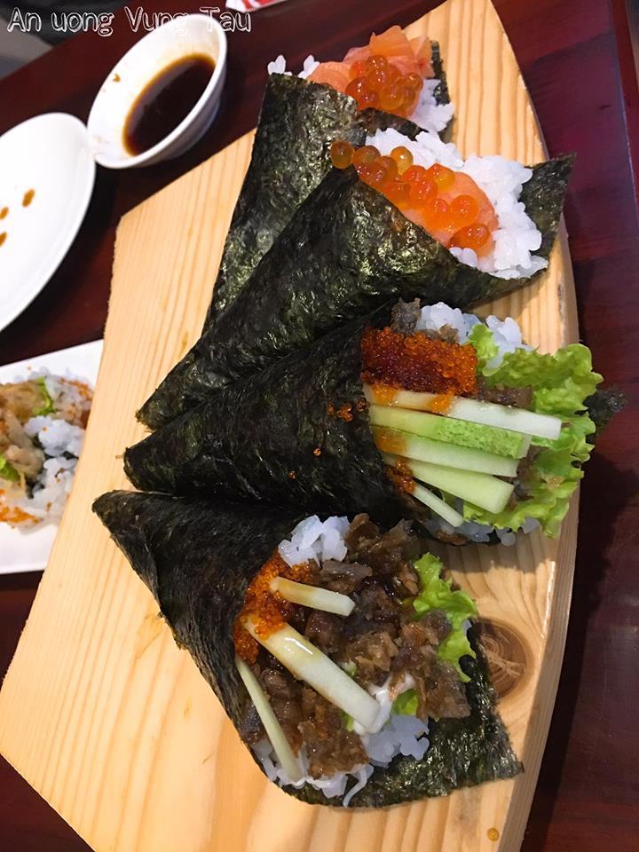Sushi ngon đẹp mắt