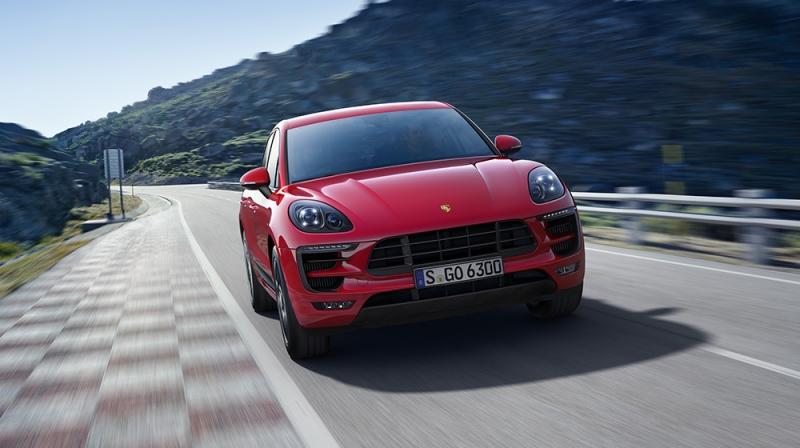 SUV cỡ nhỏ hạng sang tốt nhất: Porsche Macan