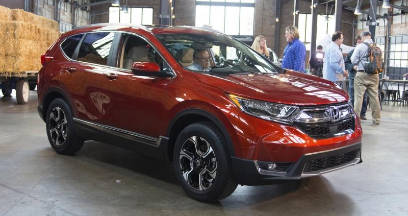 SUV cỡ nhỏ tốt nhất: Honda CR-V