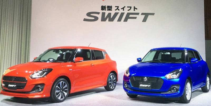 Lễ giới thiệu Suzuki Swift 2017