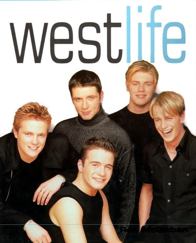 Năm thành viên Westlife