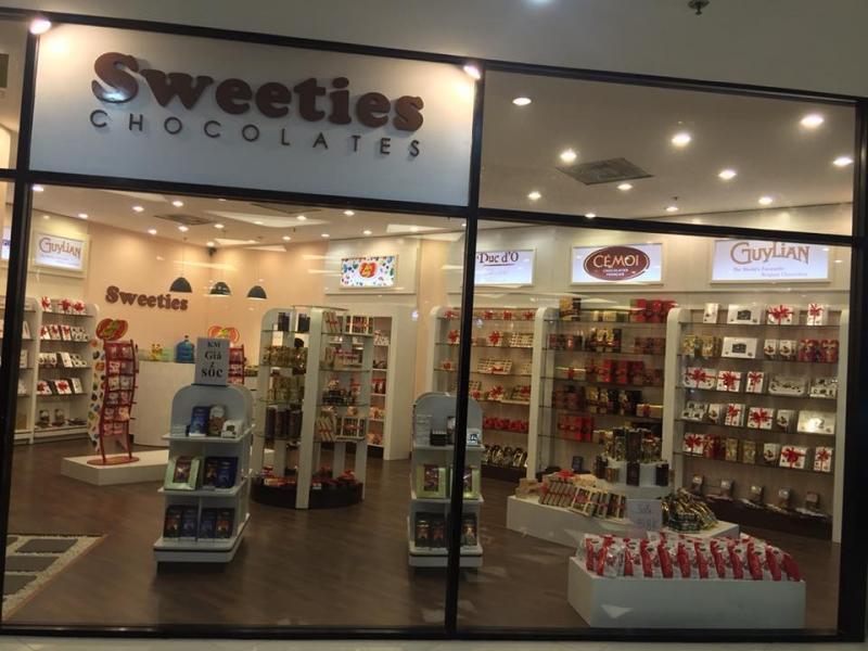 Cửa hàng Sweeties chocolate