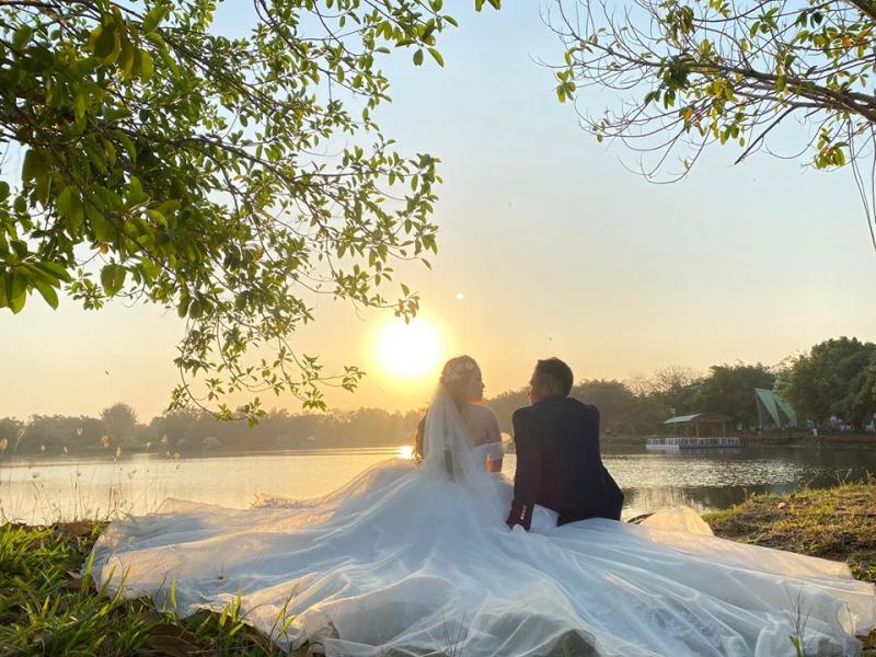 Ảnh cưới ngoại cảnh chất lượng tại Sweetlove Studio