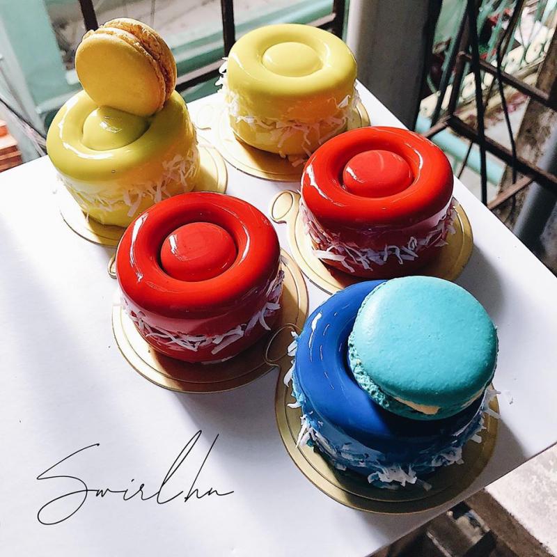 Bánh của Swirl Cupcakes