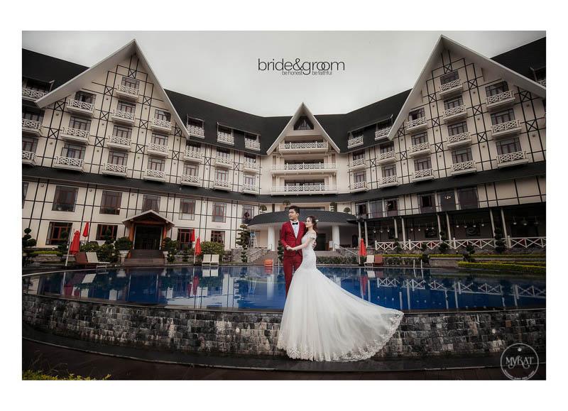 Ảnh cưới tại Swiss Belresort Đà Lạt