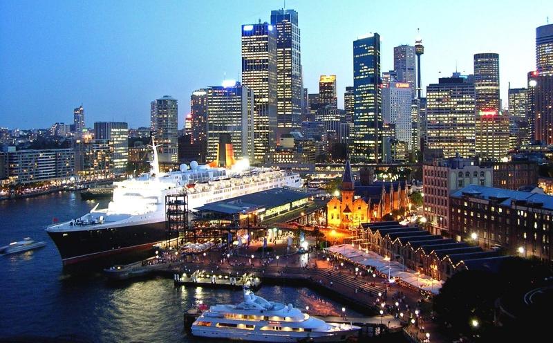 Sydney là trung tâm tài chính quan trọng ở vùng châu Á - Thái Bình Dương.