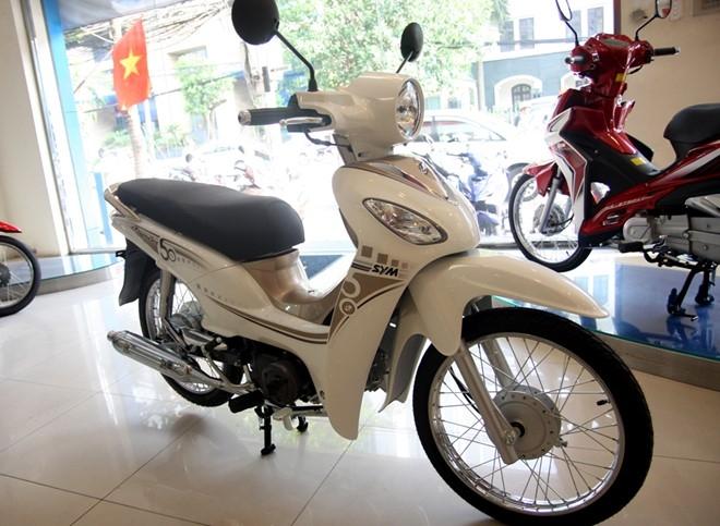 SYM  Angela 50 với phong cách thiết kế hiện đại mang hơi hướng cổ điển