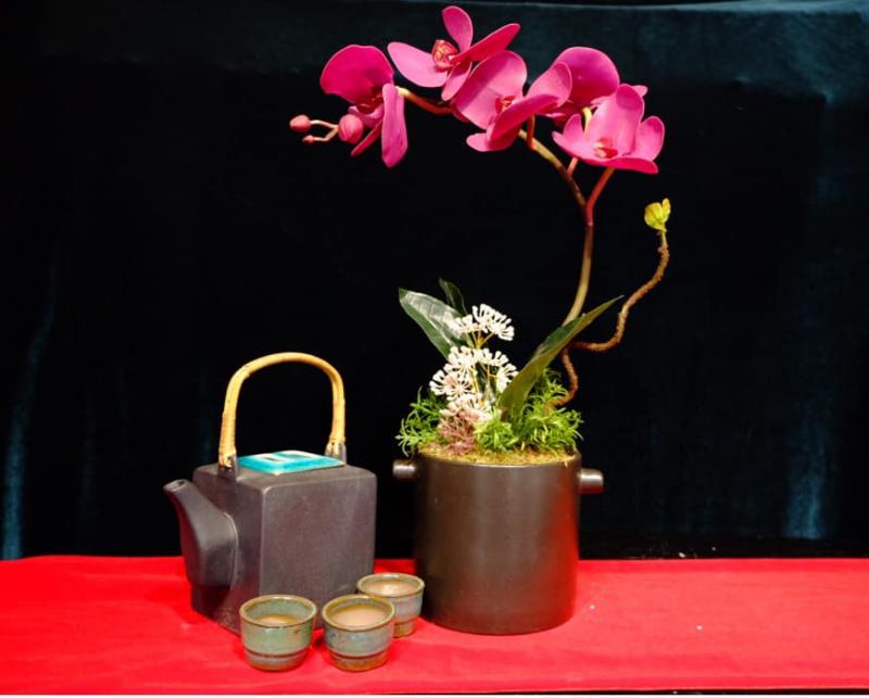 Symphony - Hoa Đất Sét Nhật Handmade.