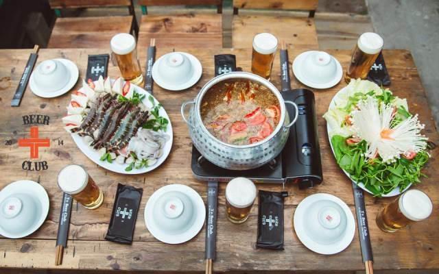 Những món nhậu độc đáo ở T+ Beer Club - Ngọc Khánh