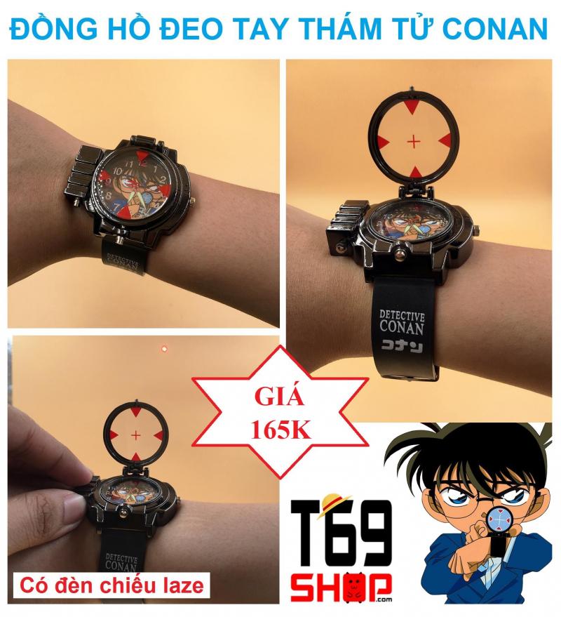 Mẫu đồng hồ Conan cực