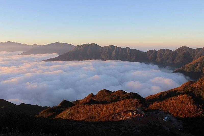 """Đỉnh núi Tà Chì Nhù được mệnh danh là """"đại dương trên trời"""""""